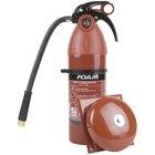Principio de funcionamiento del extintor de fuego químico de espuma
