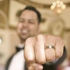 Cómo determinar el tamaño de un anillo para hombre