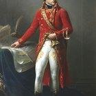 Trajes de la época del Imperio de 1800