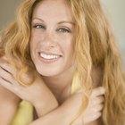 Cómo rizar el cabello seco