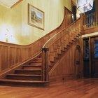 Como limpar escadas de madeira