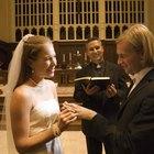 Wedding ceremony, outdoors