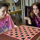 Opções para convidar os amigos para jogar damas online