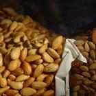 Información nutricional: almendras crudas contra almendras tostadas