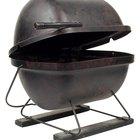 Cómo asar comida en una parrilla de gas