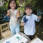 Actividades para niños con las huellas de sus manos
