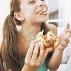 Alimentos libres de lácteos y huevos para los niños