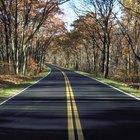La ley sobre las líneas amarillas dobles en las carreteras de Colorado
