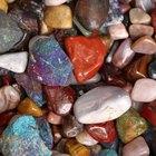 Como tingir pedras