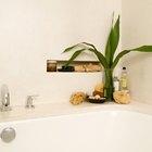 Ideas para un nicho de azulejos en el baño
