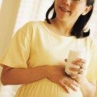 Beber leche entera durante el embarazo