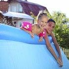 Cómo tratar el agua en una piscina inflable