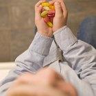 Os riscos à saúde das balas de goma