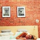 Métodos para perforar paredes de ladrillos