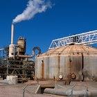 ¿Qué tipos de industrias emiten más gases de efecto invernadero?