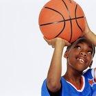 Atividades de basquete divertidas para crianças