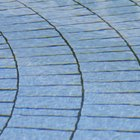 How to attach concrete pavers using a construction adhesive