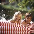 Formas naturales de limpiar una piscina para niños