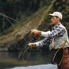 Pesca en el Lake Louise, Alaska