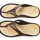 Como fazer sandálias gregas com chinelos