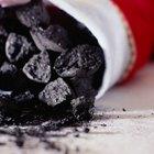 Origen de los trozos de carbón para la Navidad