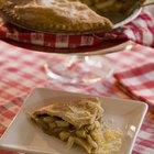 Cómo preparar una cubierta crocante para tartas con mantequilla
