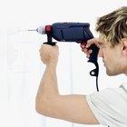 Guía para perforar agujeros en concreto.