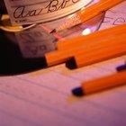 Como usar um caderno de caligrafia