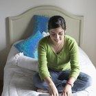 El tamaño estándar de una sábana para una cama individual