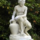 How to clean stone statues