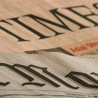 As etapas da produção de um jornal impresso