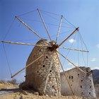 ¿Cuál es el origen de los molinos de viento?
