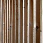 Cómo hacer paredes de tabique de madera rectas