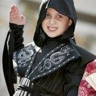 Como costurar um capuz de ninja