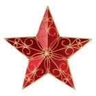 Como fazer uma estrela de natal
