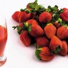 Cómo hacer jugo de fresa