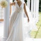 Cómo hacer un velo de novia estilo cascada
