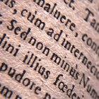 Cómo crear frases en latín