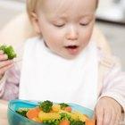 Alimentos para comer con los dedos para niños de 12 meses