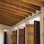 Maderas utilizadas en vigas de techo