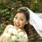 Cómo hacer un velo de novia con una tela cuadrada