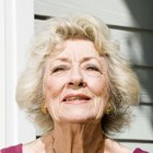 Causes of eye color change in the elderly