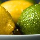 Diferenças entre os sucos de limão e de lima