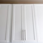How to paint thermofoil-wrapped cabinets