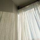 How to clean nicotine stained curtains