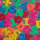 Actividades con letras magnéticas