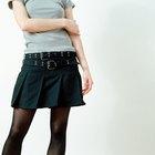 Cómo usar una falda corta sin lucir como si estuvieras mostrando mucho