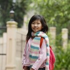 Las medidas de mochilas apropiadas para niños