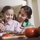 Ideas para enseñar en una clase de cocina