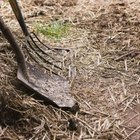 You can use a shovel to turn your compost pile, but a pitch fork works even better.